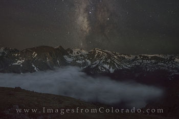 Milky Way from Trail Ridge Road 2