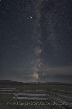Milky Way over Byers Peak - Fraser, Colorado 1