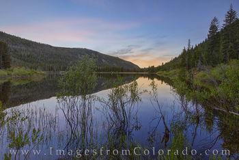 monarch lake, grand county, sunrise, peace, quiet, still, hiking
