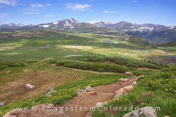 Mount Bierstadt Switchbacks 1