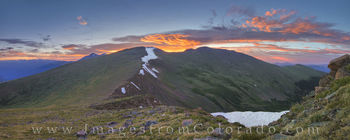 mount flora, berthoud pass, 13ers, grand county, winter park, highway 40, sunrise, morning, panorama, continental divide trail, CDT, colorado mountain images, rocky mountains, CDT images, 13ers images