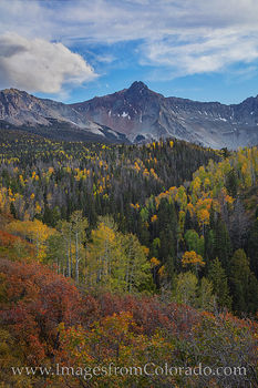 sneffels, dallas divide, fall, autumn, october, aspen, ridgway, county road