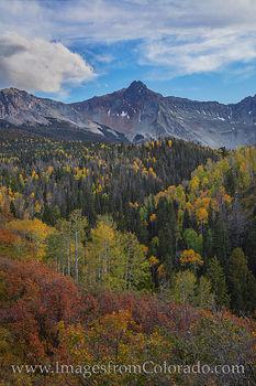 Mount Sneffels in the Fall 103-1