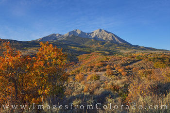 Mount Sopris Autumn Morning 103-1