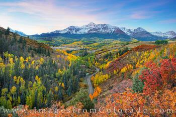 Mount Wilson Fall Colors before Sunrise 1