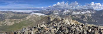 14ers, Mount Yale, panorama, colorado landscapes, buena vista, sawatch mountains, rocky mountains