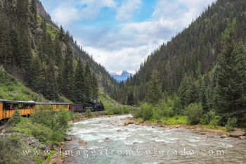 colorado images, durango silverton, narrow gauge railroad, durango, silverton, colorado prints, colorado landscapes, san juan mountains, animas river, trains, traintracks