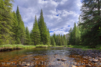 north inlets, rocky mountain national park, underwater, stream, creek, mountains, trout, grand lake, north inlets trail