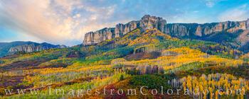 Owl Creek Pass Panorama Autumn Palette 101-1