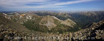La Plata, 14ers panorama, colorado 14ers, colorado mountains, landscapes, colorado summits