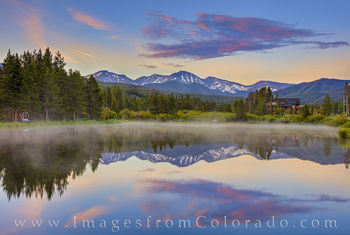 parry peak, winter park, continental divide, berthoud pass, morning, summer, 13ers, reflection