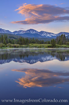 parry peak, winter park, grand county, fraser valley, morning, sunrise, berthoud pass, continental divide, reflection, fog