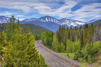 Parry Peak and Train Tracks 629-1