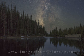 Milky Way over Colorado Images and Prints
