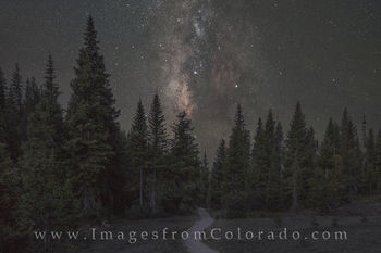 RMNP - Path to the Milky Way 2