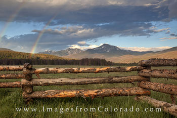 byers peak, fraser, mountains, wooden fence, colorado landscapes