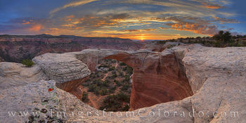 rattlesnake canyon, rattlesnake arch, arches, canyons, mcinnis canyons, colorado national monument, western colorado, sunset, glory, cliffs, rocks