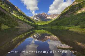 Reflections of the Maroon Bells 2
