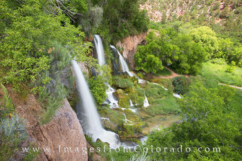 Rifle Falls State Park, Rifle Falls images, Rifle Falls summer, Colorado waterfalls images, Colorado waterfalls, Colorado images, Colorado prints