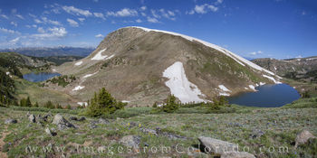 rollins pass, corona pass, winter park colorado, colorado landscapes, panorama, deadmans lake, pumphouse lake