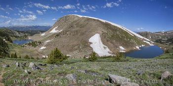 rollins pass, corona pass, winter park colorado, colorado landscapes, panorama, deadmans lake, pumphouse lake