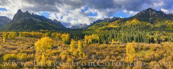 San Juans, Precipice peak, autumn, owl creek pass, cimarron, silver jack