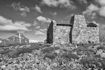 mount holy cross, black and white, notch mountain, shelter, colorado 14ers, 14ers, holy cross image, 14ers images, colorado landscapes, colorado landmarks, historic sites, notch saddle, coorado hikes,