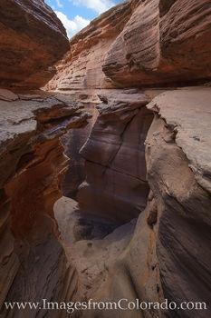 slot canyon, horsethief canyon, colorado river, kokepelli trail, grand junction, mesa county, hiking, exploring