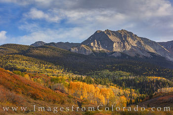 aspen, ridgway, dallas divide, county road 9, autumn, fall, ouray, gold, orange