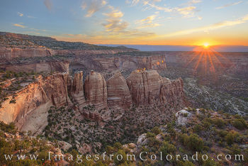 artist point, colorado monument, colorado national monument, sunrise, western slope, colorado mesa, grand junction, fruita, rim rock road