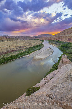 Sunset over the Colorado River 716-2