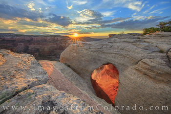 Rattlesnake Canyon and Arches Images and Prints