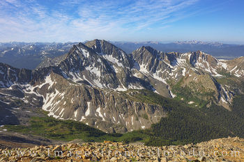 14ers, mount huron, three apostles, summer, july, rocky mountains