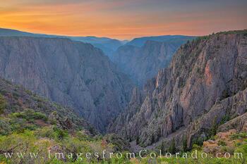 Tomichi Point - Black Canyon Sunrise 727-2