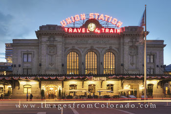 union station, denver, union station images, train station, train hall, downtown denver, denver images, denver photos, downtown denver photos, travel by train, Colorado trains, Colorado train stations
