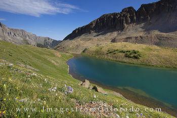 blue lakes, ouray, colorado wildflowers, blue lakes trail, lower blue lake, upper blue lake, blue lakes pass, colorado flowers, colorado summer