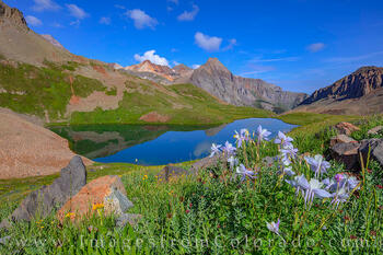 Upper Blue Lake on a Summer Afternoon 726-1