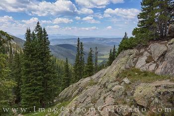 Upper Piney Lake Trail, Summit County 718-1