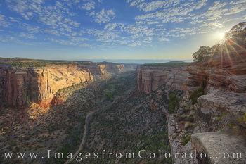 Ute Canyon Sunrise 626-2