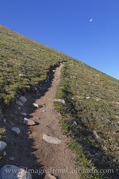 14ers, mount huron, moon, hiking, trails, collegiate peaks, suffering