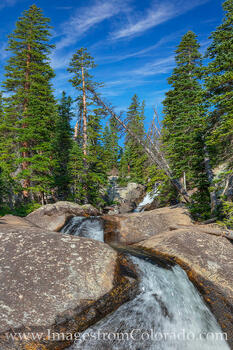 Willow Creek Falls Afternoon 1