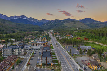 winter park, drone, aerial, ski runs, parry peak, 13ers, summer, morning