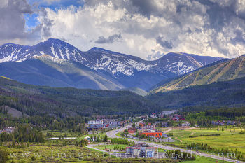 winter park, parry peak, highway 40, afternoon, storm clouds, berthoud pass, continental divide, summer