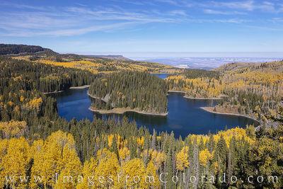 Grand Mesa, Colorado, in Autumn