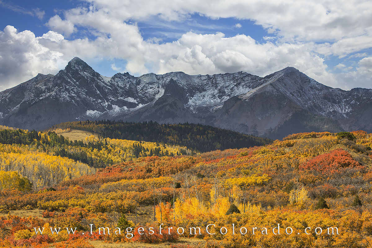 dallas divide, ridgway, ouray, san juans, san juan mountains, autumn color, fall colors, aspen trees, photo