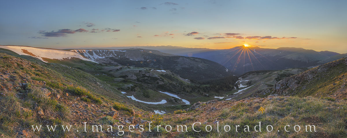 berthoud pass, continental divide trail, winter park, continental divide, highway 40, hiking, hiking colorado, hiking trails, berthoud pass trail, sunrise, summer, panorama, photo