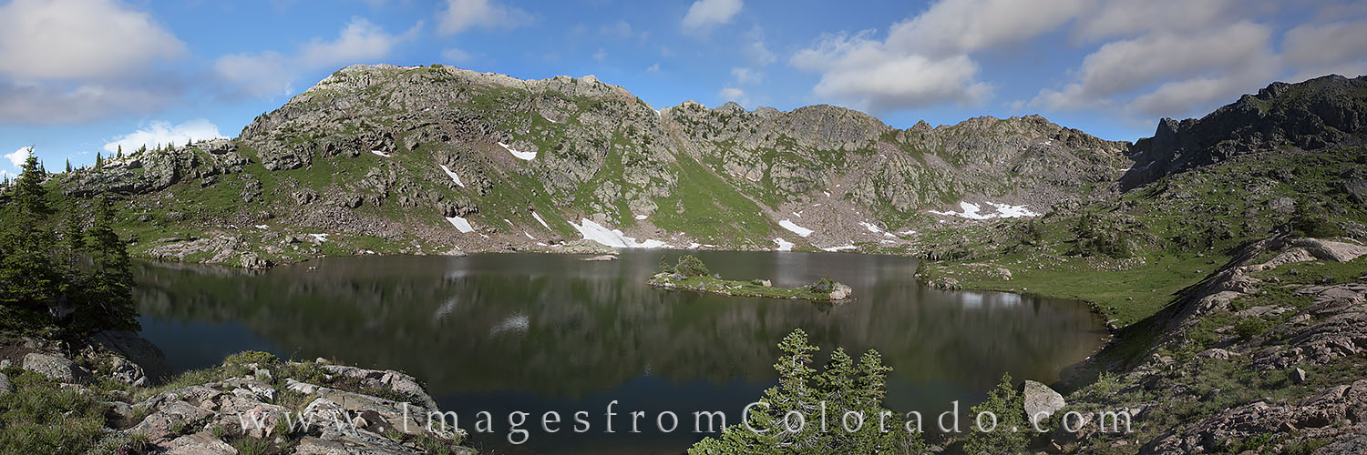 booth lake, vail, vail colorado, booth falls, booth lake panorama, panorama, eagles next wilderness, eagle, photo