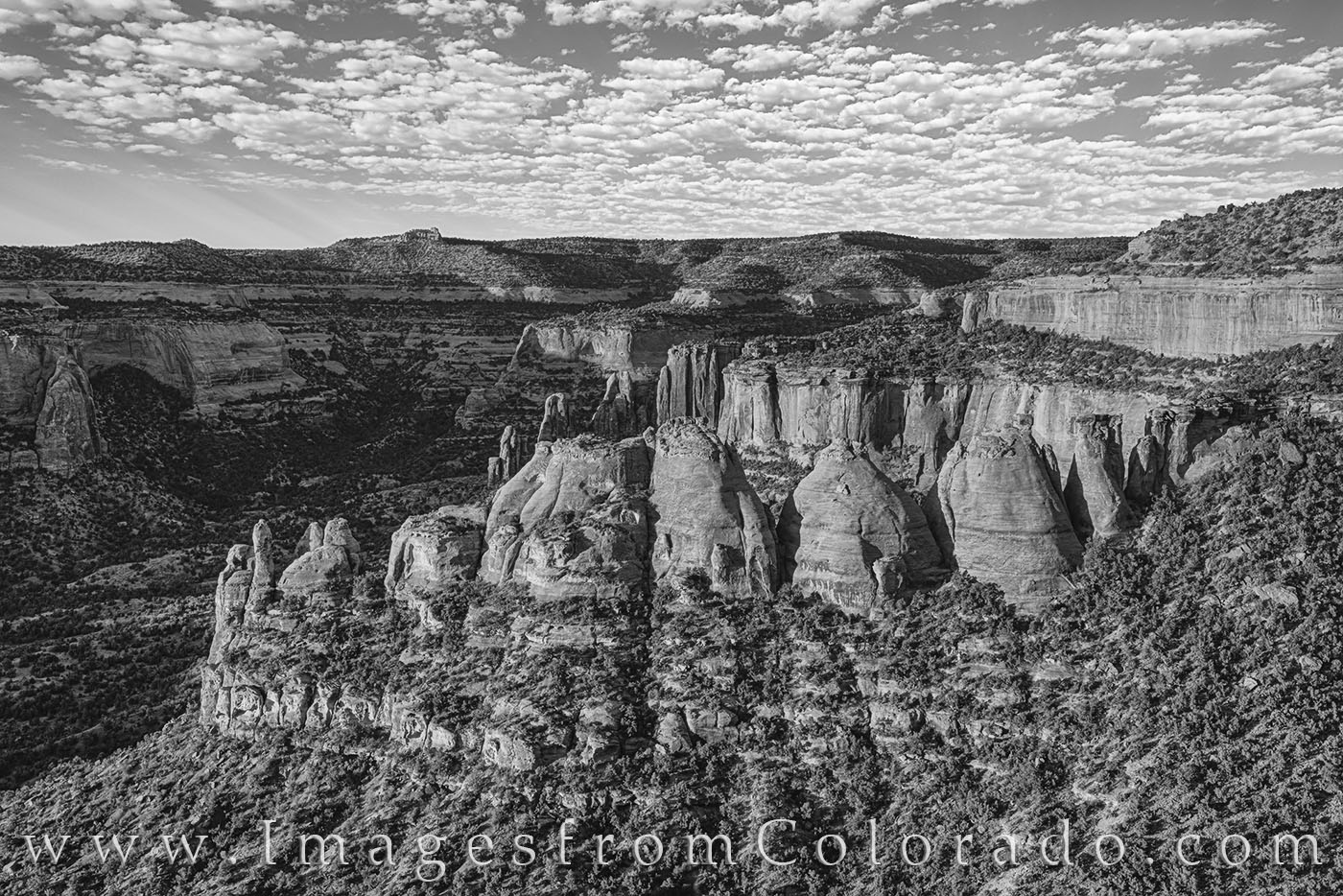 coke ovens, colorado national monument, morning, rim rock road, colorado plateau, desert formations, rock formations, grand junction, photo