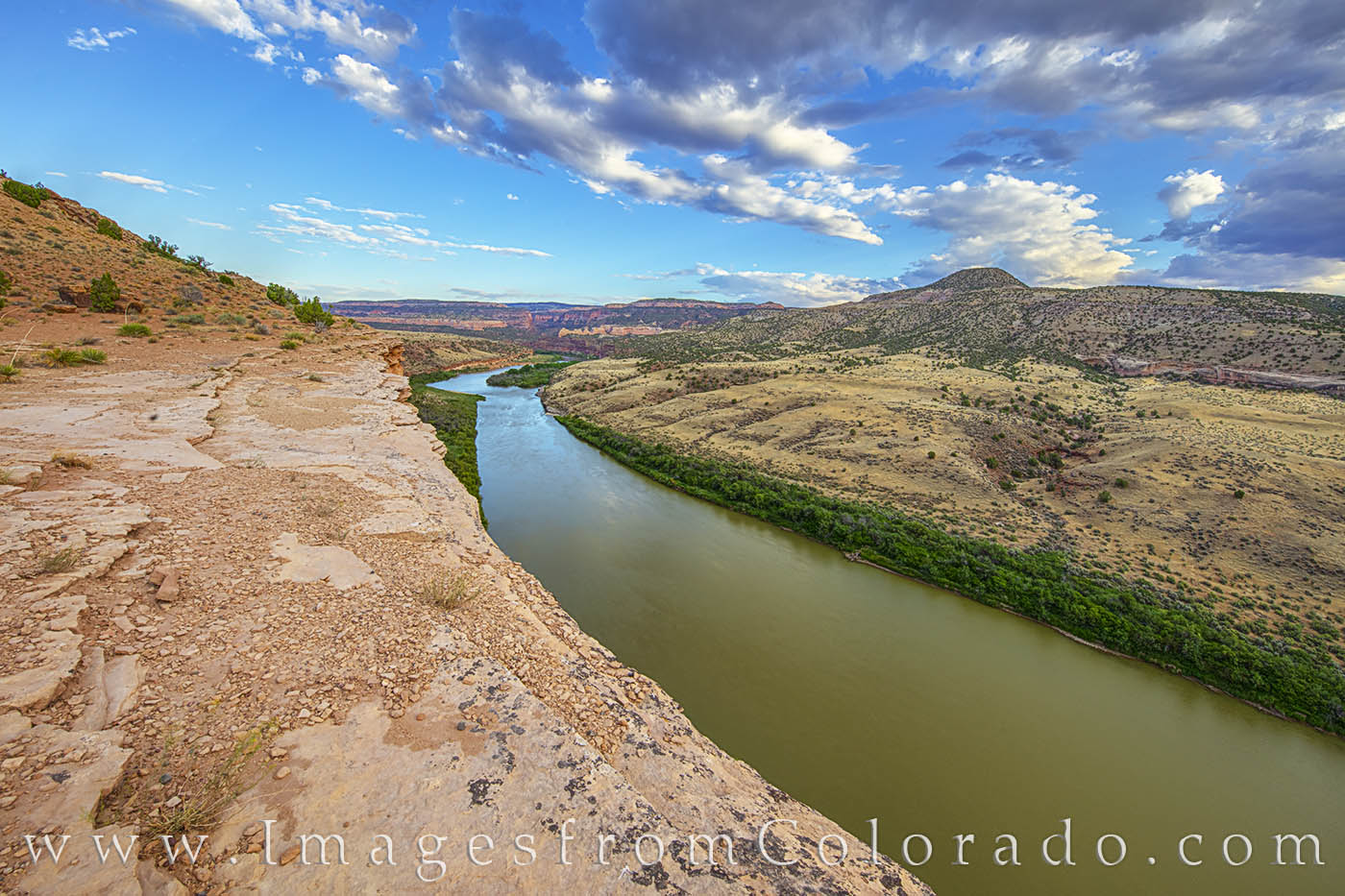 colorado river, grand junction, kokopelli trail, hiking, cliff, overlook, mesa county, photo