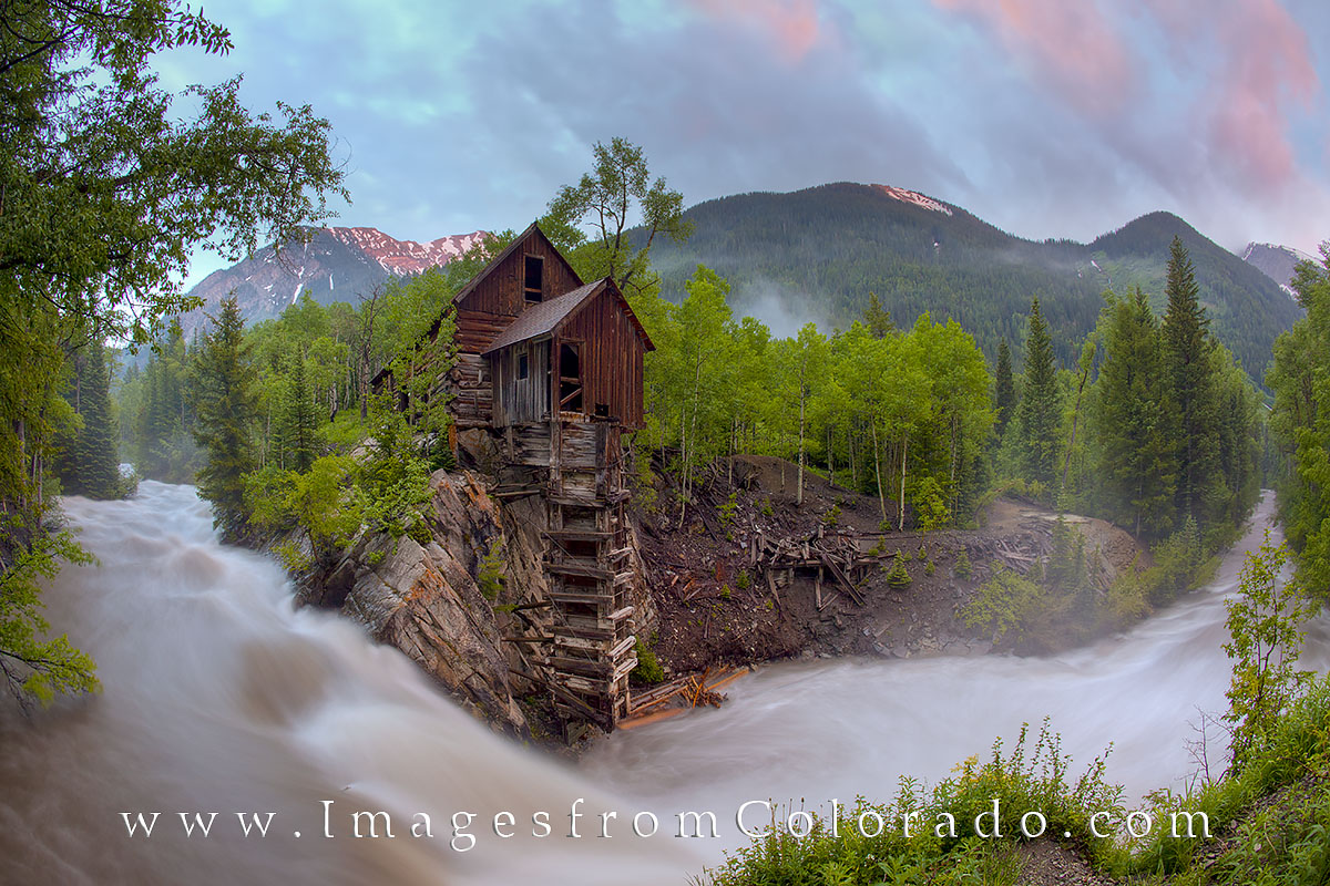 crystal mill, crystal coloardo, redstone, dead horse mill, colorado mill, crystal river mill, crystal mill images, colorado landscapes, colorado icons, photo